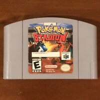 Pokemon Stadium Video Game Cartridge Nintendo 64 N64 Original Authentic TESTED!