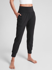 Athleta XSP Salutation Jogger XS PETITE Black | SOFT Yoga Pants Workout Joggers