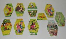 Lot d'anciens puzzle Publicitaire SIX DE SAVOIE DISNEY Warner Bros Vintage
