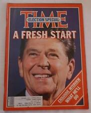 Magazine- Time, Election Special A Fresh Start November 17, 1980