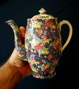 A Beautiful Royal Winton Grimwades Chintz Hazel Coffee Pot