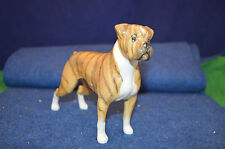 Lovely VINTAGE Beswick Melange Boxer Dog STATUETTA in PORCELLANA USC rd5327