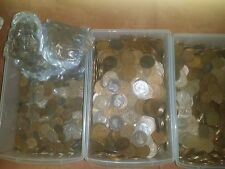 500 coins british coin Penny halfpennies farthings very old mixed lot 500 coin