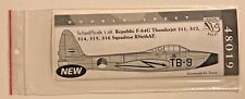 Dutch Decal 1/48 Republic F-84G Thunderjet RNethAF 48019