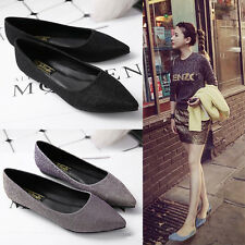 New Fashion Women's Pointed Toe Casual Slip On Fashionable Ballet Flats Shoes
