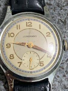 JUNGHANS Kal. 93 ,Mechanisch Herrenarmband Uhr  Vintage 50er Jahre