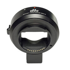 Dot Line Body Mount Adaptor: Canon EF Lens to Sony E-Mount Camera
