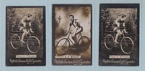 Cyclist Cards - Guinea Gold/Tabs Type Issues (Ogdens Ltd.) - 7 Cards