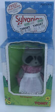 Vintage 1985 Epoch Sylvanian Families Pansy Chestnut Raccoon Miniature Toy Tomy
