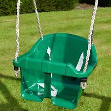 Rebo Children's Baby Toddler Adjustable Bucket Replacement Swing Seat- Green