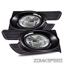 Fits 98-02 Honda Accord 4 Door Sedan JDM Clear Fog Lights Driving Lamps + Switch