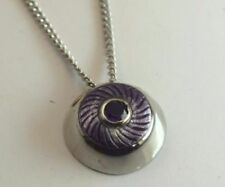 Beauty Round Amethyst Fine Necklaces & Pendants