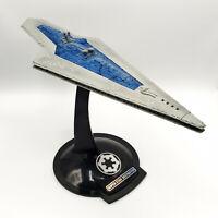 Hasbro Star Wars Collector Fleet SUPER STAR DESTROYER 1998 w/stand,working sound