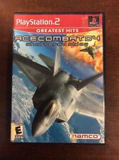Ace Combat 04 Shattered Skies Sony PlayStation 2 2002 ElectronicsRecycled.com