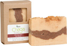 Chaga Mushroom Natural Hand Made Bath Soap Bar with Red wine and Spices 3.5oz