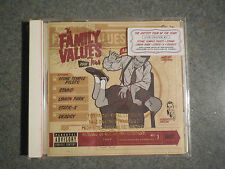 The Family Values 2001 Tour by Various Artists (CD 2001) Brand NEW! FREE SHIP!