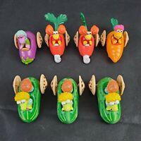 Fraggle Rock McDonald's Happy Meal Kids Henson 1988 Lot of 7 Muppets Vegetables