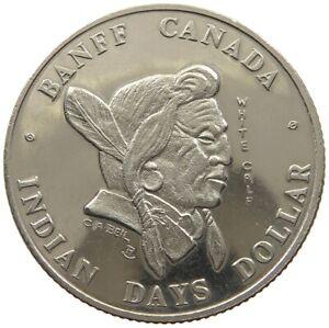 CANADA DOLLAR 1976 INDIAN DAYS BANFF #c82 831