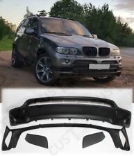 FRONT and REAR SPOILERS for BMW X5 E53 4.8is style fits on 2003-2006 facelift