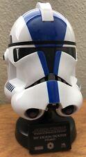 MASTER REPLICAS STAR WARS 501st Legion Clone Trooper HELMET .45 Scaled