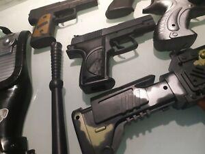 stock armi giocattolo pistole fucili pistola fucile giochi bambino swat mitra