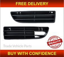 Vw Bora 1999-2006 Front Bumper Fog Grille Pair Left & Right Insurance Approved