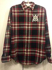 Ralph Lauren Shirt Checked Cotton Size US 6 UK 10 NEW