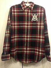 Lady Ralph Lauren Sport Shirt Checked 100% Cotton Size US 6 UK 10 NEW RRP £140