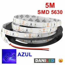 Tira Led 5M 300 led SMD 5630 AZUL INTERIOR IP20