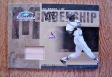2005 Donruss Classics #MS-20 Lou Brock 12/25 Game-Used Bat St. Louis Cardinals