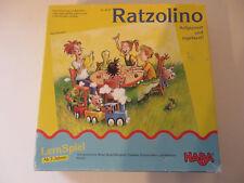 HABA ° lustiges Spiel Ratzolino Kinder Spiel 3+ Lernspiel Familienspiel