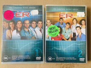 Brand New ER - Season 1 & 2 DVD Set Complete Second Series One & Two