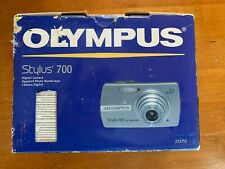 Olympus Stylus 700 7.1 MP Digital Camera - Silver