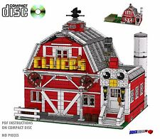 CD Restaurant Modular Lego Custom Farm Instructions cafe city #44 cafe corner