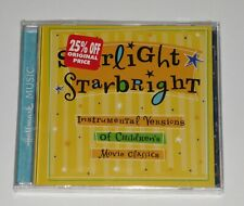 Starlight Starbright: Instrumental Versions Of Children's Movie Classics SEALED
