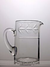 VINTAGE LOVELY CRYSTAL CUT GLASS MILK JUG