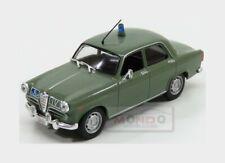 Alfa Romeo Giulietta Polizia Stradale 1961 Green EDICOLA 1:43 ED126918