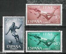 Spain IFNI Edifil # 176/178 MNH Set. Football / Sports / soccer