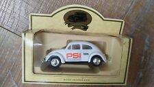 Lledo Promotional White Old Volkswagen VW Beetle Bug Saloon Split Schreen Toy