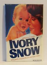 "VINTAGE IVORY SNOW LAUNDRY DETERGENT SOAP 2"" x 3"" Fridge MAGNET Nostalgia"