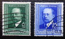 Deutsches Reich 760-761 , 50 Jahre Diphtherie-Serum , Gestempelt