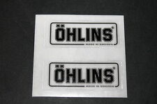 ÖHLINS Aufkleber Sticker Decal Bapperl Federung Supension Schriftzug Ducati #5