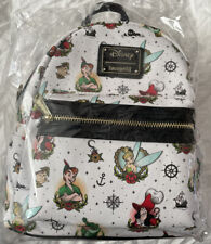Loungefly Disney Peter Pan Tattoo Print Mini Backpack NWT limited edition 600