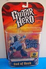 2007 Todd McFarlane Toys Guitar Hero God of Rock Toy Action Figure BLACK SHIRT