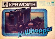 vTg 70s KENWORTH USA custom Semi Truck K Whopper Trucker Big Rig T-shirt iron-on
