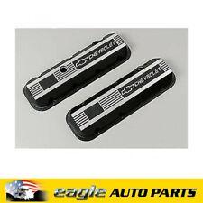 Chev 396 454 502 GM Performance Std Height Cast Aluminum Valve Covers # 12495488