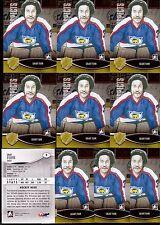 GRANT FUHR 12/13 ITG H&P HOCKEY HERO Lot of (10) #9 Oilers Victoria Cougars