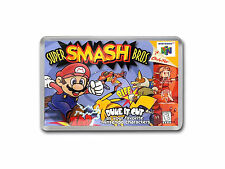 SUPER SMASH BROS Nintendo 64 N64 Game Cover Art Fridge Magnet