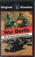 (VHS) War Devils - Die Kriegsteufel kommen - Guy Madison, Pascale Petit (Neu)