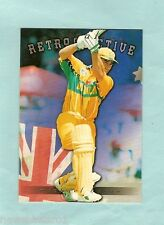 1996 FUTERA CRICKET RETROSPECTIVE  CARD AR8  MICHAEL BEVAN #0054